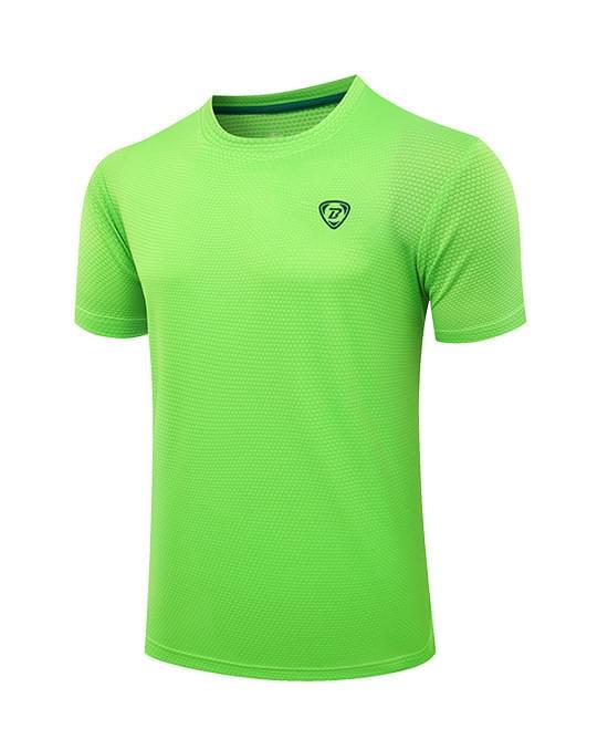 纯色短袖运动T恤